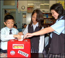 Kids Vote in Obama
