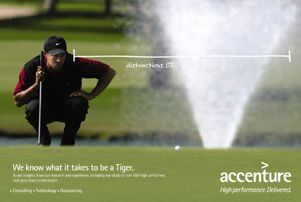 Apparently even eruptions dont distract Tiger
